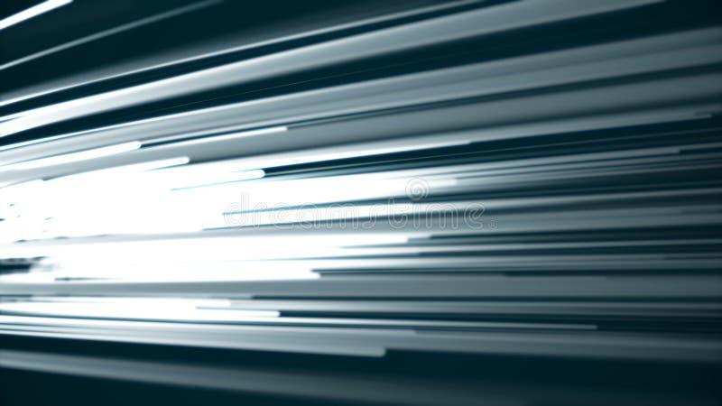 五颜六色的对角射线或线背景动画 五颜六色的对角线移动的光线背景动画 免版税库存图片