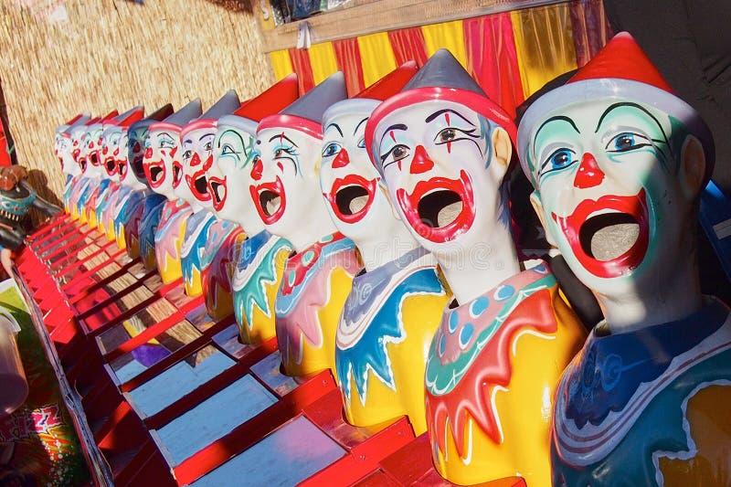 五颜六色的小丑 库存照片