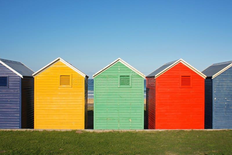 五颜六色的小屋 免版税库存图片