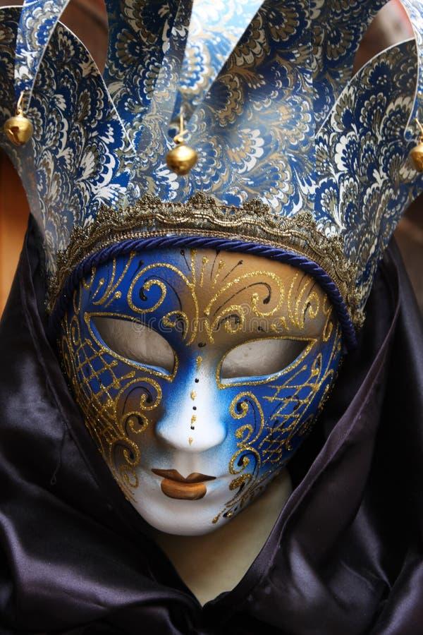 五颜六色的屏蔽传统威尼斯 免版税图库摄影