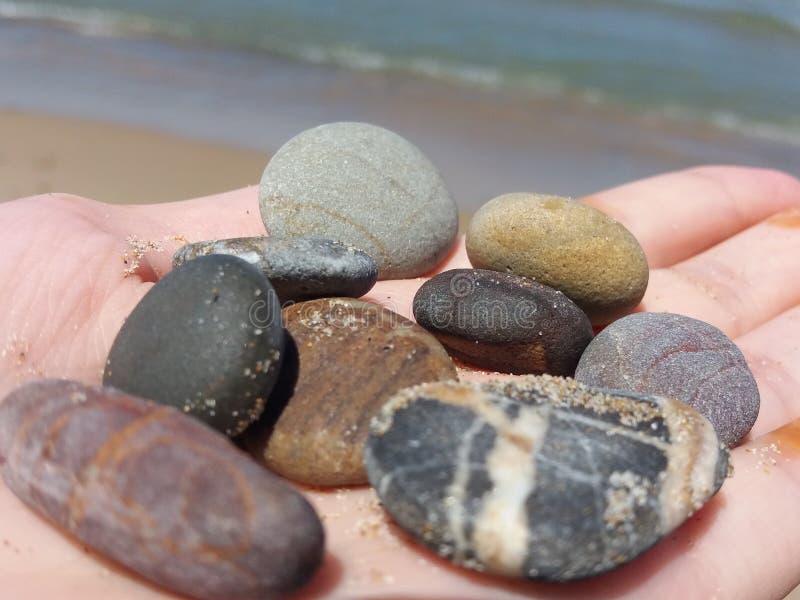 五颜六色的岩石巫婆秀丽 免版税图库摄影