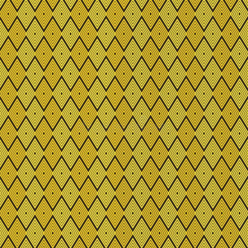 五颜六色的平行四边形样式设计黑色  皇族释放例证