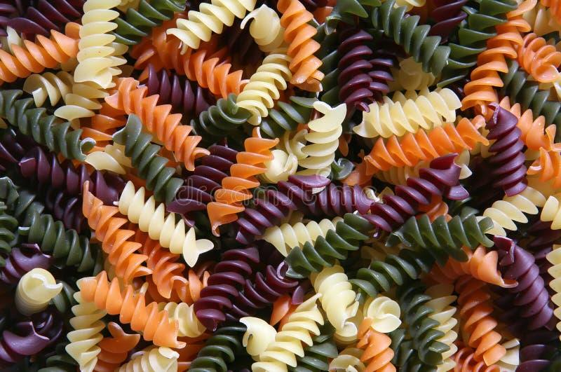 五颜六色的意大利面食 免费库存图片