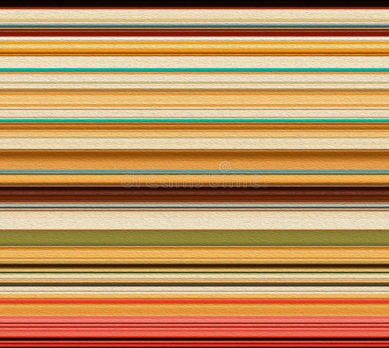 五颜六色的抽象条纹设计有作用背景 免版税库存照片