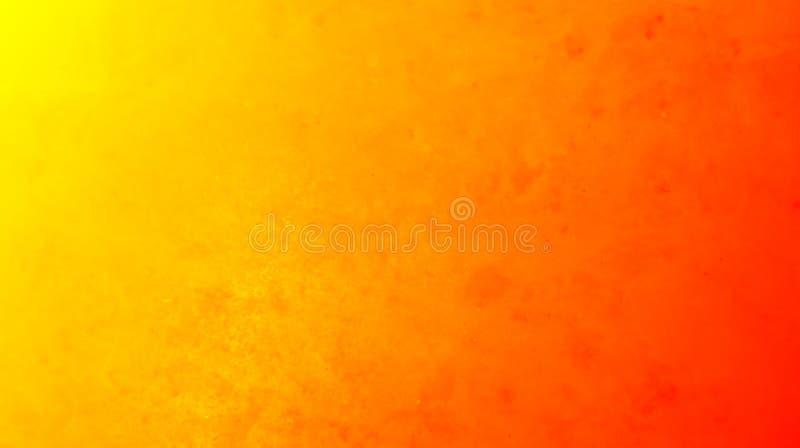 五颜六色的抽象橙黄颜色有织地不很细背景 库存例证