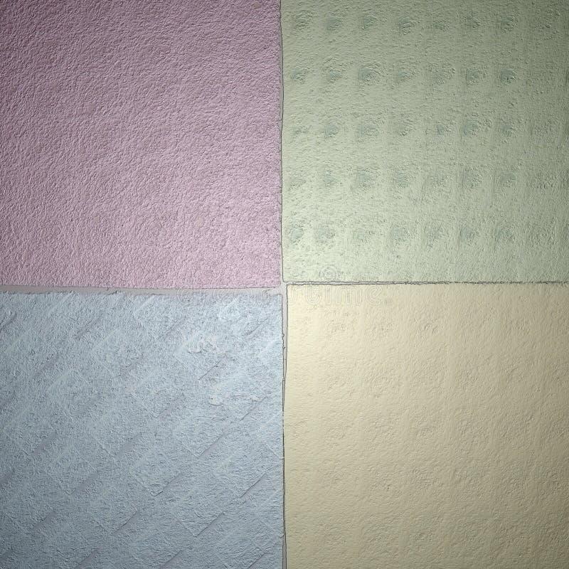 五颜六色的抽象背景纹理 库存照片