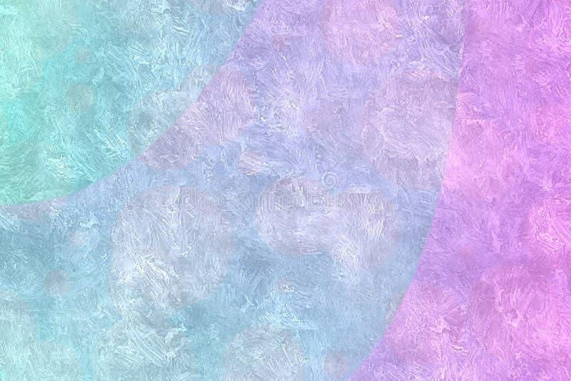 五颜六色的抽象背景 皇族释放例证