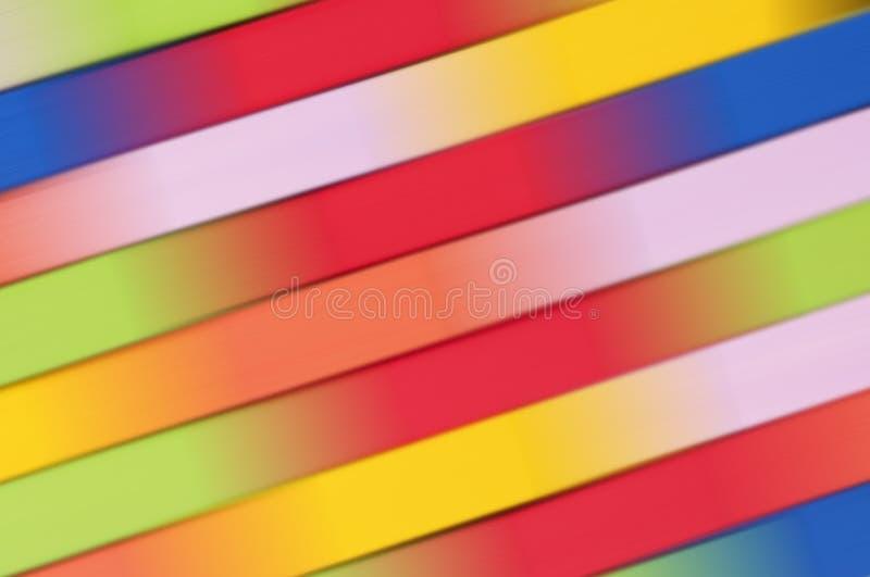 五颜六色的抽象背景,以绿色、黄色、粉红色、蓝色、桔子和红色 免版税图库摄影