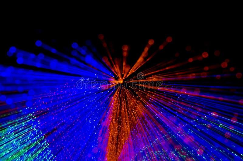 五颜六色的抽象背景,使用从隧道ligh的行动迷离 库存图片