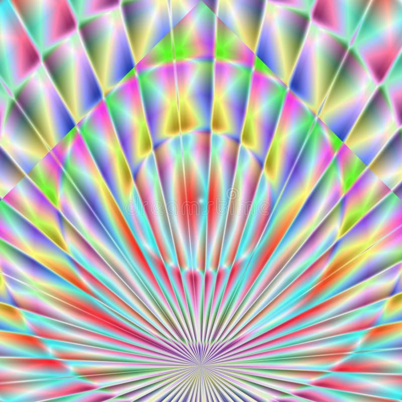 五颜六色的抽象 免版税库存照片