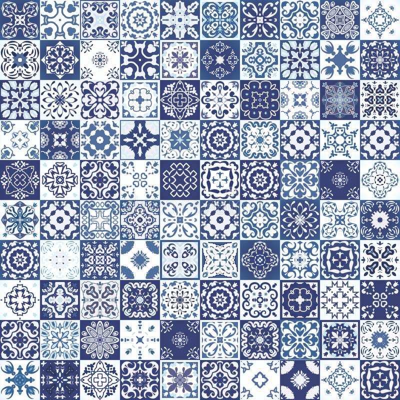 从五颜六色的摩洛哥瓦片,装饰品的兆华美的无缝的补缀品样式 能为墙纸,样式积土,网pa使用 图库摄影