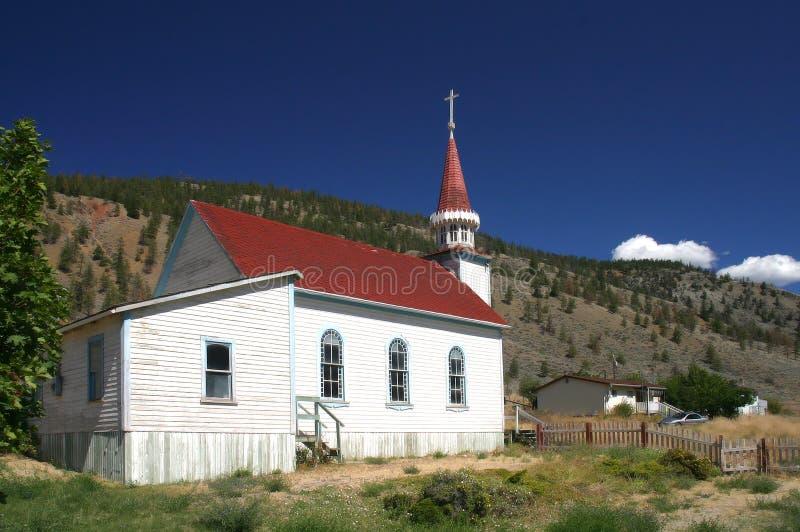 五颜六色的教会 免版税库存图片