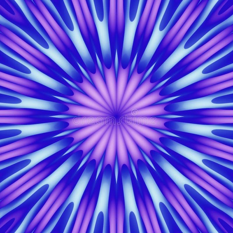 五颜六色的方形瓦片 库存例证