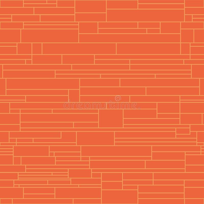 五颜六色的无缝的创造性的样式-传染媒介墙壁纹理 背景明亮几何 皇族释放例证