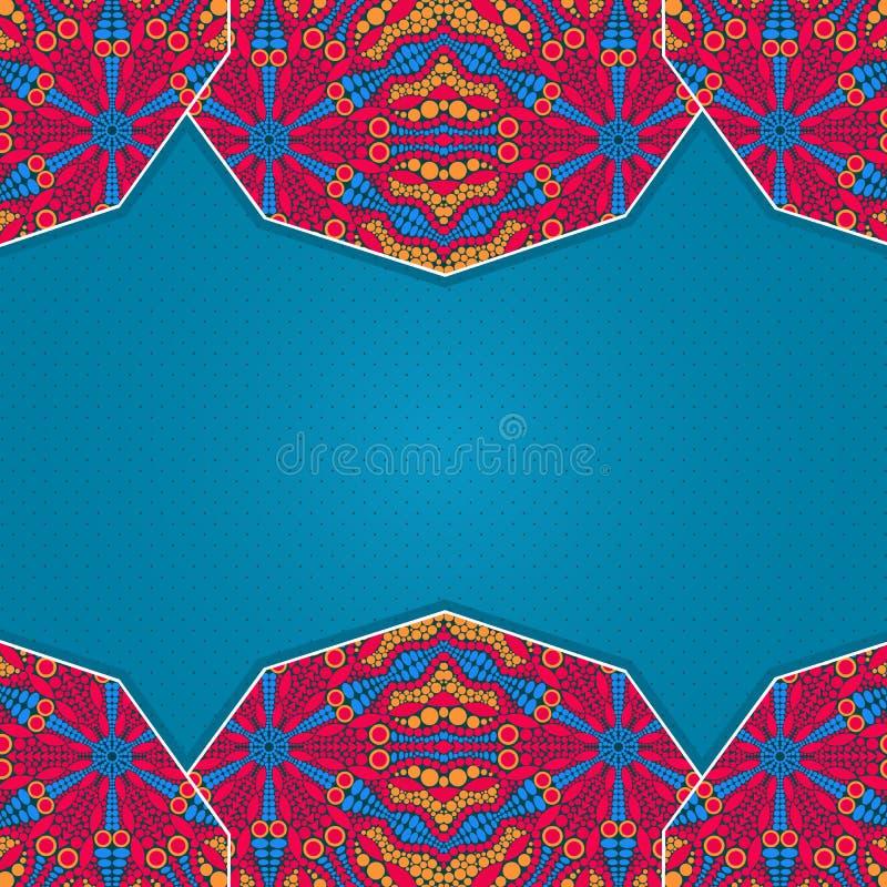 五颜六色的明亮的邀请卡片 免版税图库摄影