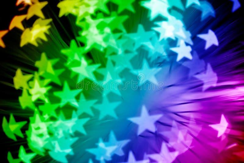 五颜六色的星形 免版税库存照片