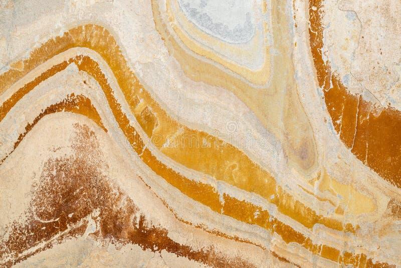 五颜六色的板岩石头纹理 库存照片