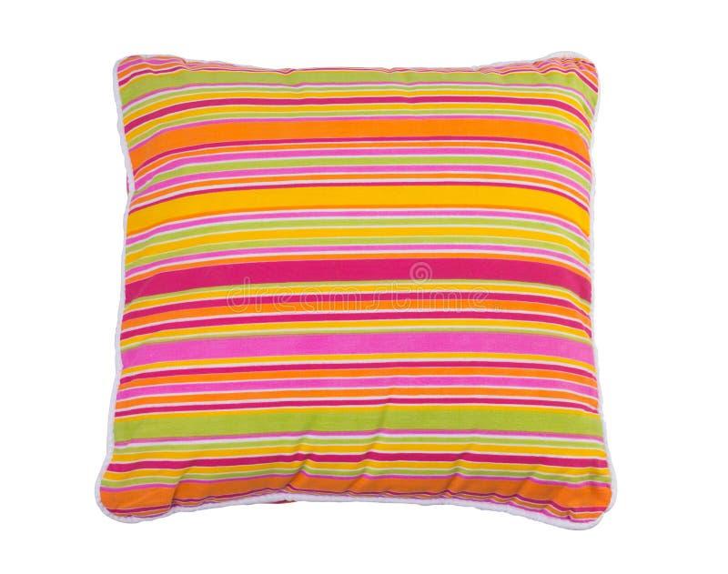 五颜六色的枕头数据条 免版税库存图片