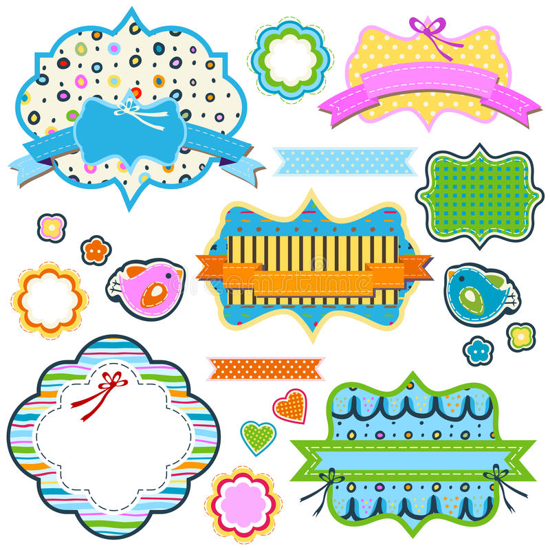 Download 五颜六色的框架 向量例证. 插画 包括有 抽象, 标签, 绿色, 粉红色, 框架, 双翼飞机, 孩子, 形状 - 30333647