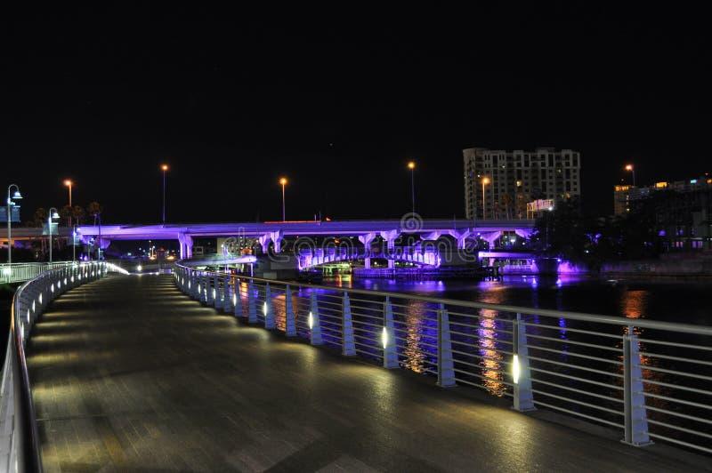 五颜六色的桥梁 免版税库存图片