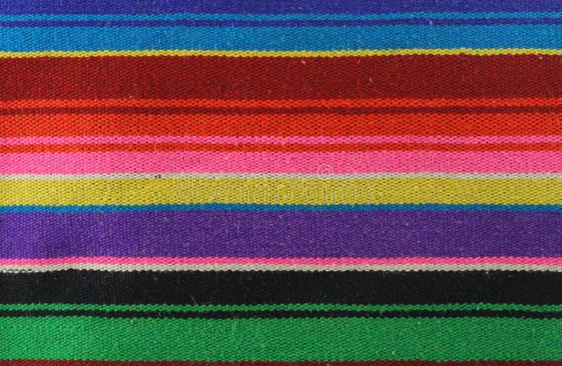 五颜六色的模式纺织品 库存照片