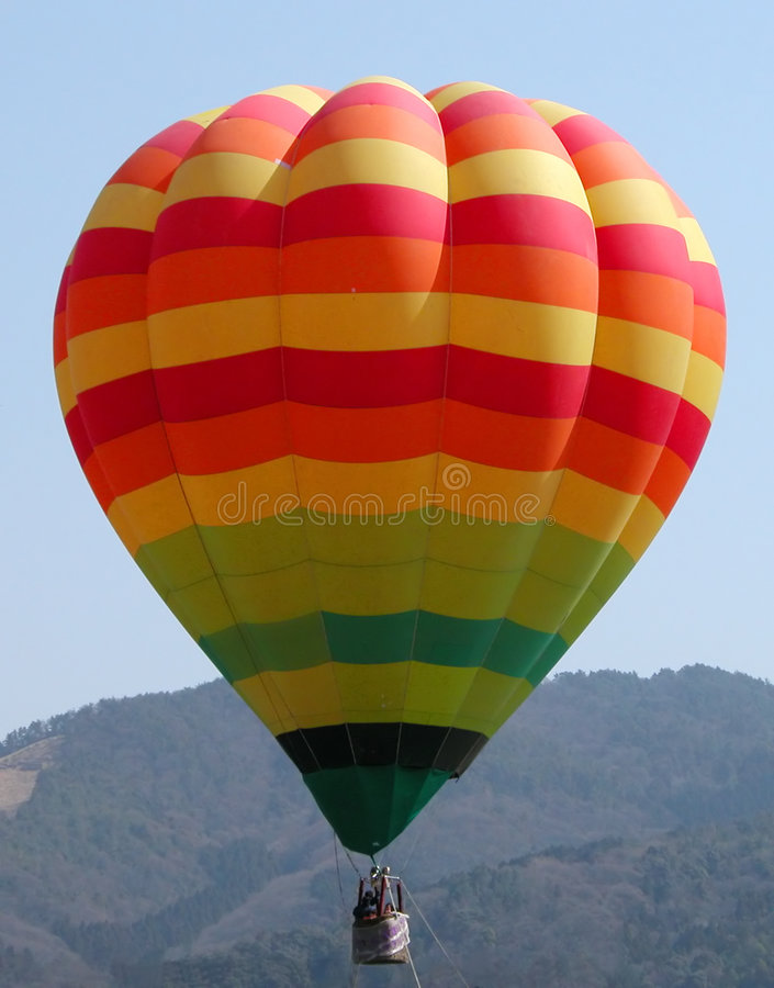 五颜六色的气球 图库摄影