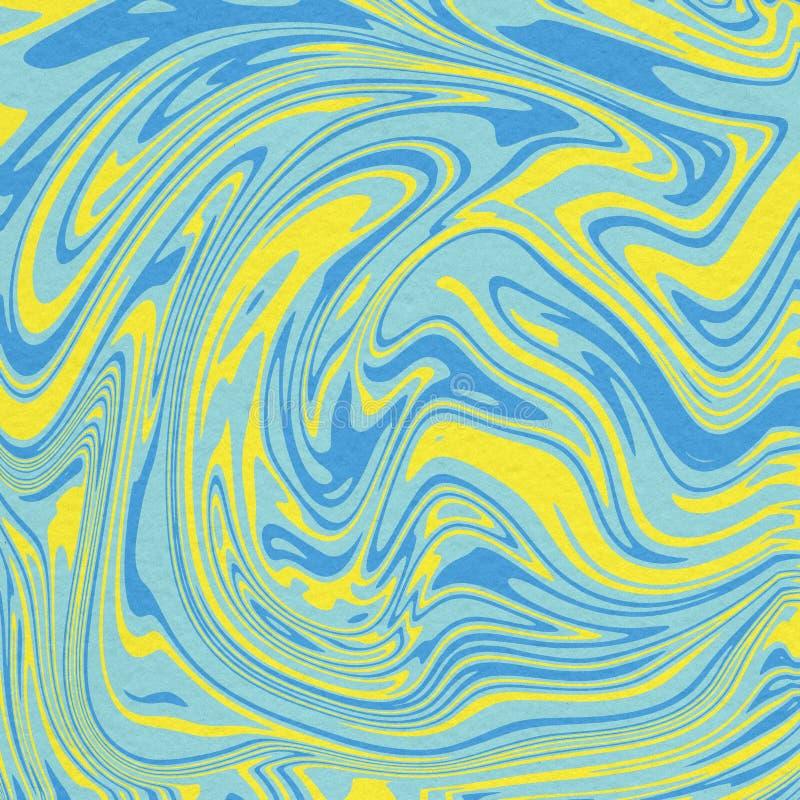 五颜六色的液体大理石背景 库存图片