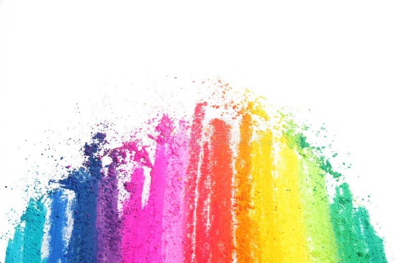 五颜六色的淡色棍子纹理 免版税库存图片