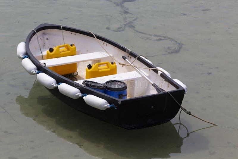 五颜六色的渔船 免版税库存图片