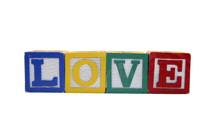 五颜六色的爱 免版税库存照片