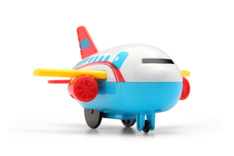 五颜六色的玩具飞机 图库摄影
