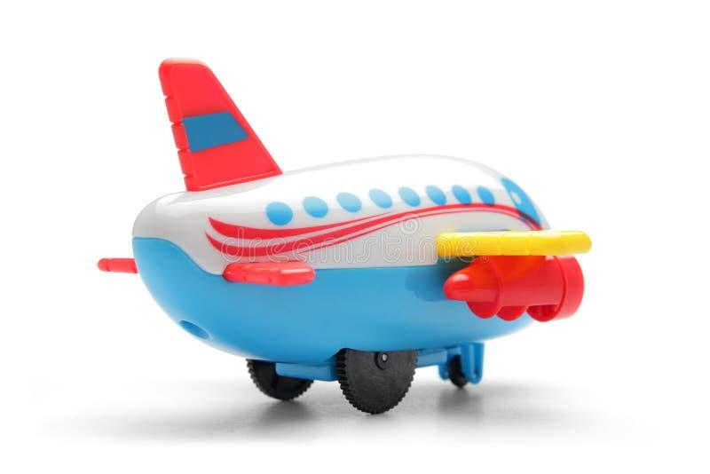 五颜六色的玩具飞机 免版税库存图片