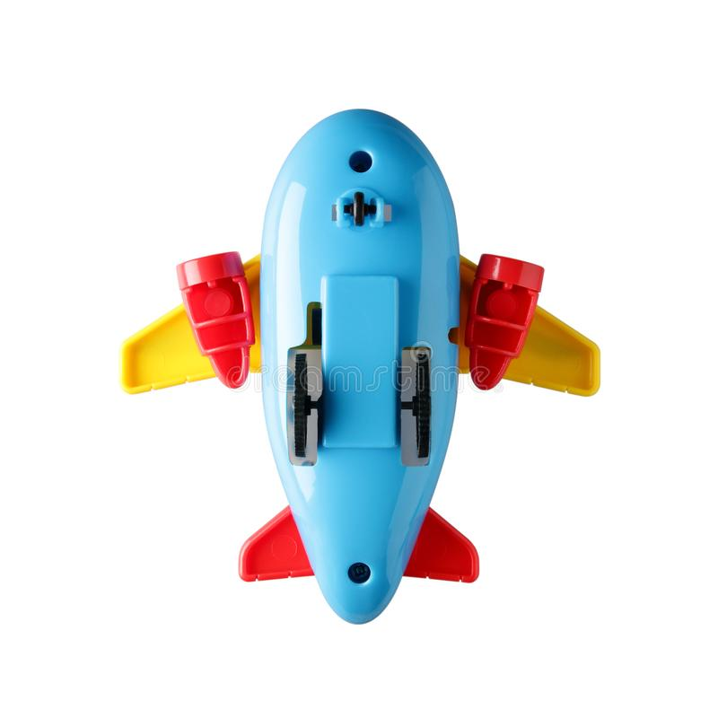 五颜六色的玩具飞机 库存照片