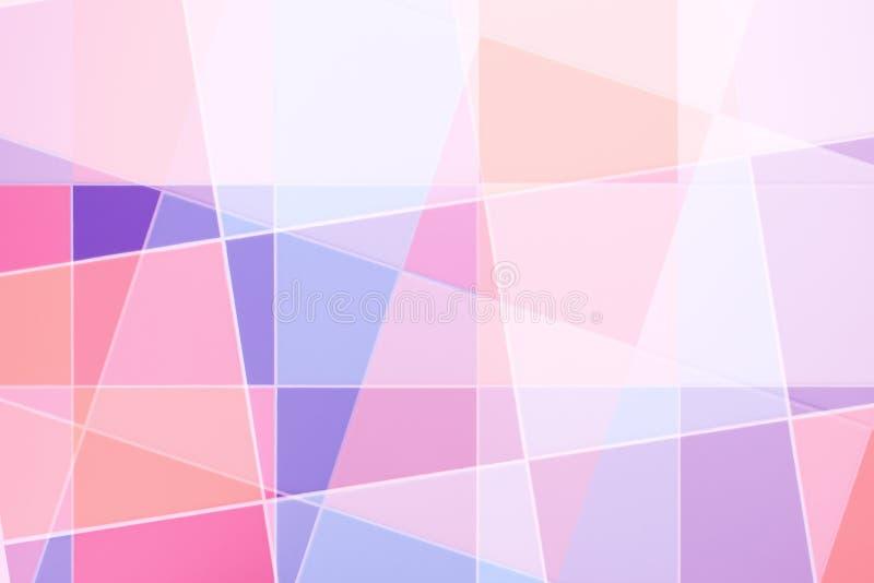 五颜六色的瓦片背景 库存图片