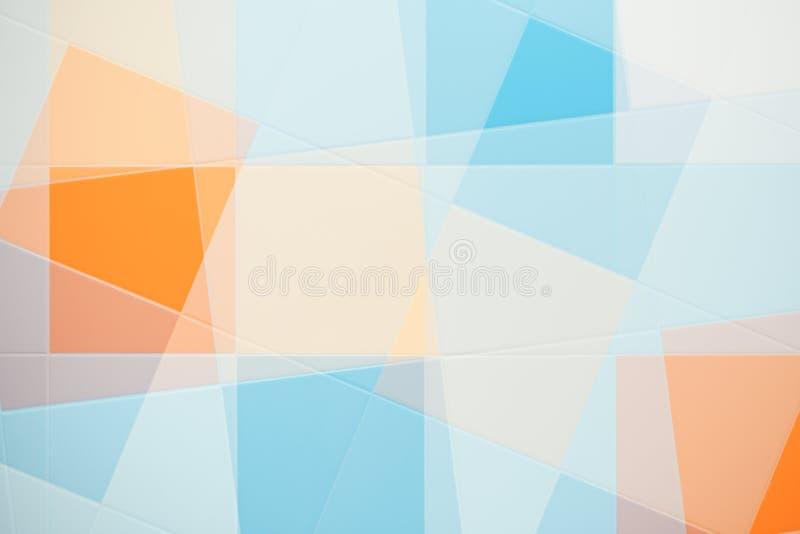 五颜六色的瓦片 库存照片