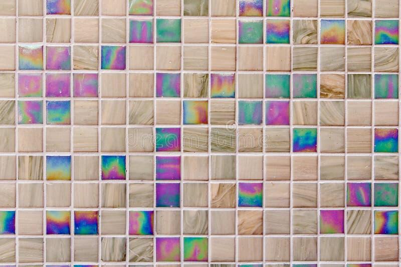 五颜六色的瓦片 库存图片