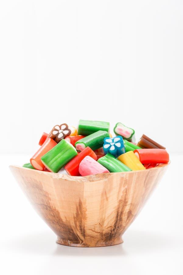 五颜六色的甜点画象 库存照片