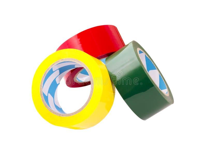 五颜六色的磁带 免版税图库摄影