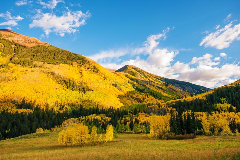 五颜六色的科罗拉多土地 免版税库存图片