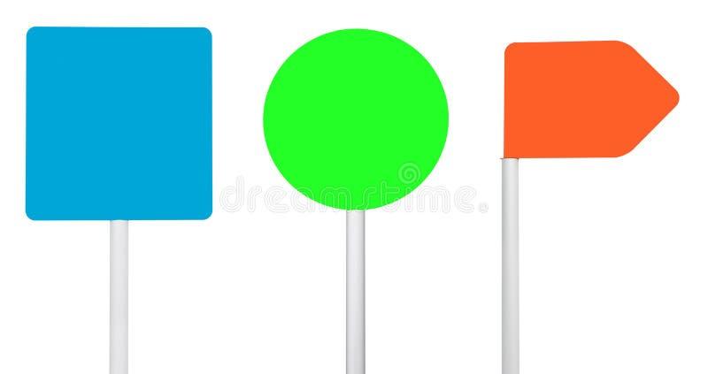 五颜六色的符号 免版税图库摄影