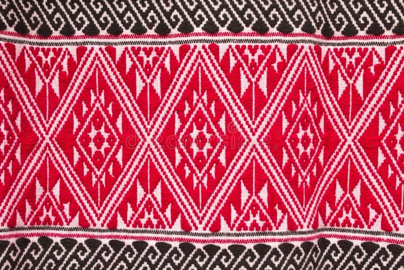 五颜六色的纺织品模式 免版税库存照片