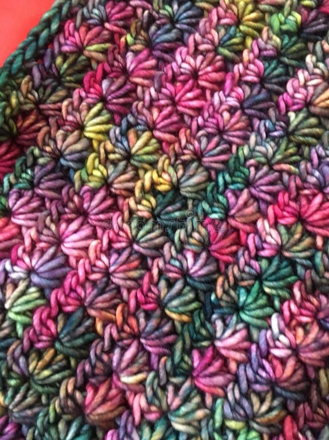 五颜六色的羊毛2 免版税库存图片