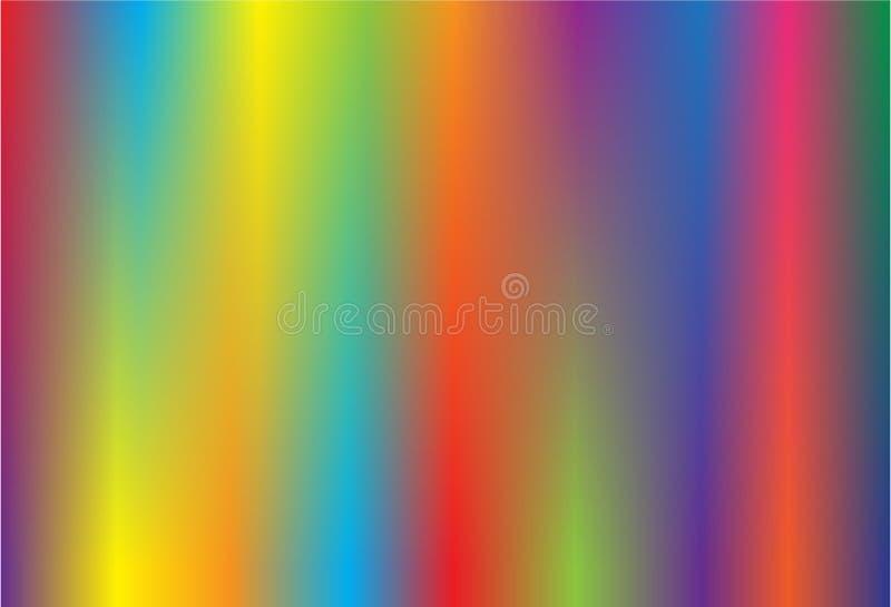 五颜六色的背景抽象传染媒介 皇族释放例证