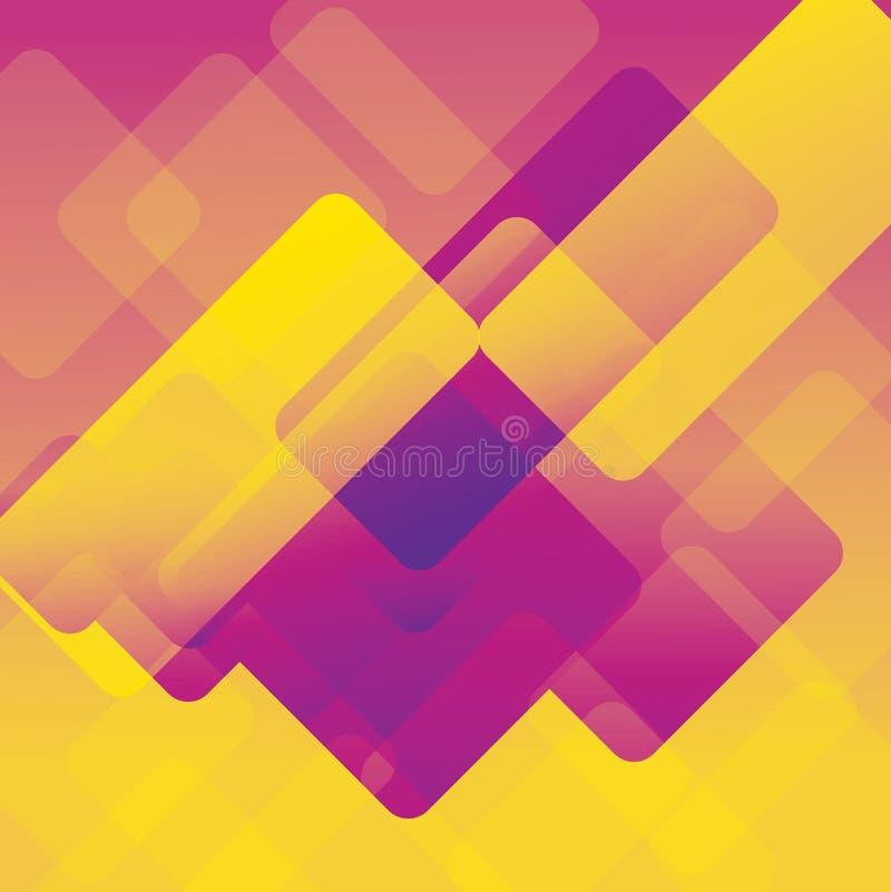 五颜六色的背景抽象或各种各样的设计艺术品,名片 库存例证
