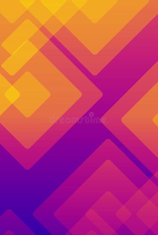 五颜六色的背景抽象或各种各样的设计艺术品,名片 向量例证
