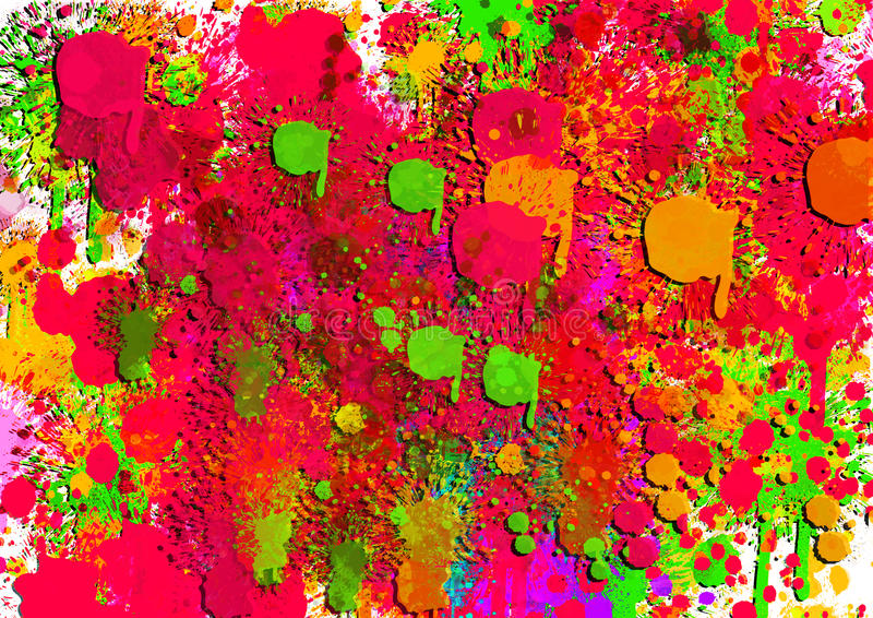 五颜六色的背景的图象设计例证的 库存例证