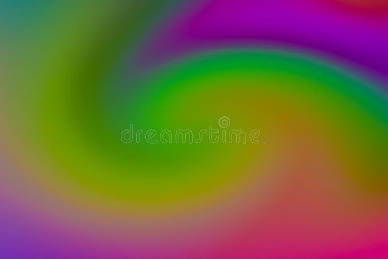 五颜六色的背景迷离混合颜色绿色行动丁香紫色莓色彩梯度红色 免版税图库摄影