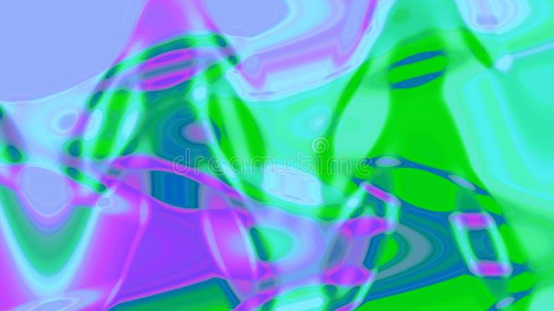 五颜六色的背景 您的设计的美好的图象 皇族释放例证