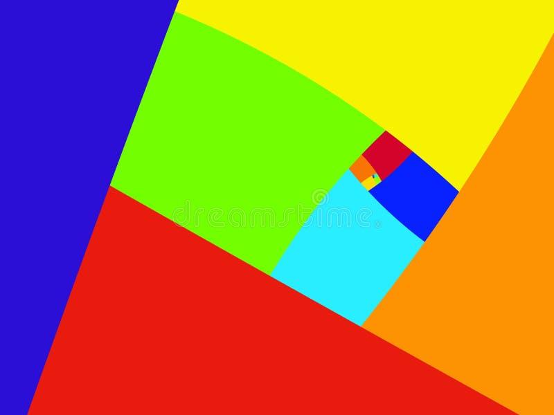 五颜六色的背景 向量例证