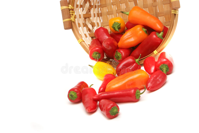 五颜六色的胡椒 免版税库存图片